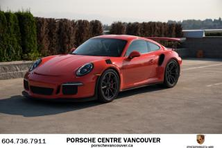 Used 2016 Porsche 911 GT3 RS Porsche Approved Certified. for sale in Vancouver, BC