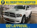 Used 2011 Dodge Ram 1500 SPORT*CREWCAB*HEMI*LEATHER*REAR DVD PLAYER*NAVIGATION*POWER SUNROOF*BACK UP CAMERA*SIDE STEPS*CHROME RIMS*POWER HEATED/COOLED FRONT SEATS*ALPINE AUDIO for sale in Cambridge, ON