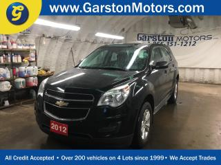 Used 2012 Chevrolet Equinox REMOTE START*PHONE CONNECT w/VOICE CONTROL*KEYLESS ENTRY*POWER WINDOWS/LOCKS/MIRRORS*CRUISE CONTROL*ECO MODE* for sale in Cambridge, ON