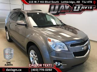 Used 2012 Chevrolet Equinox LT-AWD, Rear View Camera, Bluetooth for sale in Lethbridge, AB
