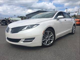 Used 2013 Lincoln MKZ NAV  PANOROOF   2.0L   HAZELNUT LTHR for sale in St Catharines, ON