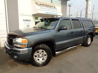 Used 2006 GMC Sierra 1500 SLT Z71 4x4 Crew Cab, Leather, Heated Seats for sale in Langley, BC
