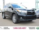Used 2015 Toyota Highlander XLE AWD - One Owner Alberta Trade In   No Accidents   Heated Front Seats   Seats 8   3 Zone Climate Control with AC   Power Sunroof   Power Liftgate   19 Inch Wheels   Navigation   Back Up Camera   All Power Options   Roof Rack   Low KMs   Well Looked Aft for sale in Edmonton, AB