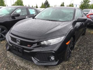 New 2017 Honda Civic SI for sale in Richmond, BC
