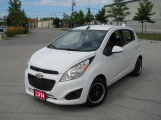 Used 2014 Chevrolet Spark 4 door, Autoamtic, Low Km, Air , certify, 3 for sale in North York, ON