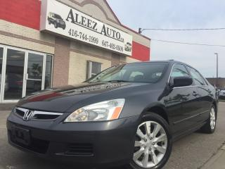 Used 2006 Honda Accord Very low Km only 88k, Clean car proof for sale in North York, ON