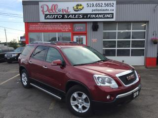 Used 2010 GMC Acadia SLE2|7 PASSENGER|TOW PACKAGE for sale in London, ON