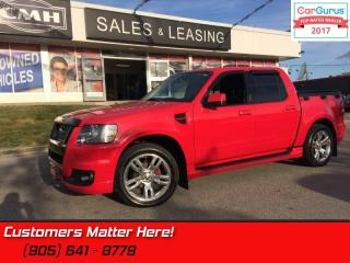 Used 2010 Ford Explorer Sport Trac Limited  ADRENALINE, NAV, DVD, CAM, LEATHER, SYNC! for sale in St Catharines, ON