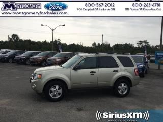 Used 2011 Ford Escape XLT  - Siriusxm for sale in Kincardine, ON