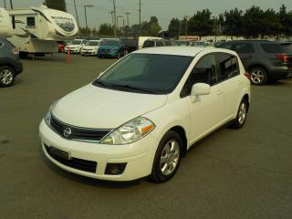Used 2010 Nissan Versa 1.8 SL Hatchback Cargo for sale in Burnaby, BC