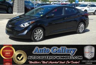 Used 2016 Hyundai Elantra SE *Roof/B.Cam for sale in Winnipeg, MB