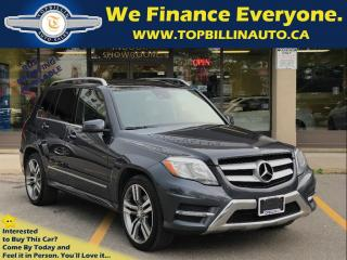 Used 2013 Mercedes-Benz GLK-Class 350 4MATIC, NAVIGATION, PANO ROOF for sale in Concord, ON