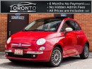 Used 2012 Fiat 500 Lounge+Bose+Leather+Sunroof+Bluetooth for sale in North York, ON