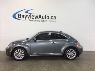 Used 2015 Volkswagen Beetle COMFORTLINE- TDI! ROOF! LEATHER! NAV! BSA! FENDER! for sale in Belleville, ON