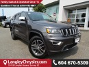 Used 2017 Jeep Grand Cherokee Limited *ONE OWNER * LOCAL BC SUV * DEALER INSPECTED * for sale in Surrey, BC