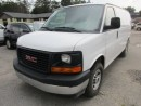 Used 2017 GMC Savana 3/4 TON WORK READY CARGO MOVER 2 PASSENGER 4.8L - VORTEC.. CD/AUX INPUT.. FACTORY WARRANTY.. TOW SUPPORT.. for sale in Bradford, ON