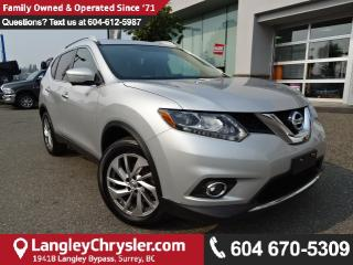Used 2015 Nissan Rogue SL *ACCIDENT FREE*ONE OWNER*LOCAL BC CAR* for sale in Surrey, BC