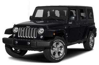 New 2017 Jeep Wrangler Unlimited Sahara Up To 0% Financing OAC for sale in Abbotsford, BC