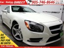 Used 2014 Mercedes-Benz SL-Class 550| SUNROOF| NAVI| CONVERTIBLE| for sale in Burlington, ON