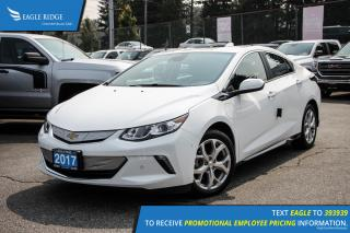 New 2017 Chevrolet Volt Premier Navigation, Heated Seats, and Backup Camera for sale in Port Coquitlam, BC