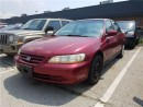 Used 2001 Honda Accord LX V6 AS IS !!! for sale in Concord, ON