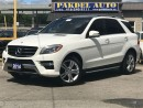 Used 2014 Mercedes-Benz ML-Class ML350 BLUETEC 4MATIC*NO ACCIDENT*NAVI*360CAMERA* for sale in York, ON