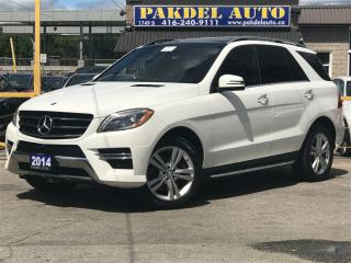 Used 2014 Mercedes-Benz ML-Class ML350 BLUETEC*NAVI*360CAMERA* DISTANCE WARNING for sale in York, ON
