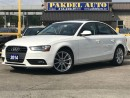 Used 2014 Audi A4 2.0 PROGRESSIVE PKG*NAVI*PUSH START*18' RIMS for sale in York, ON