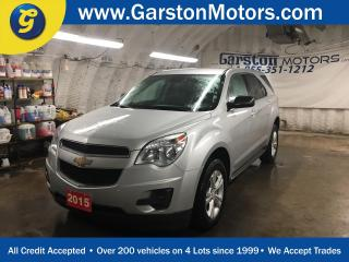 Used 2015 Chevrolet Equinox LS*PHONE CONNECT*KEYLESS ENTRY*POWER WINDOWS/LOCKS/MIRRORS*CLIMATE CONTROL*CRUISE CONTROL* for sale in Cambridge, ON