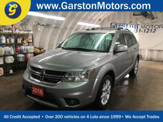 Used 2016 Dodge Journey LIMITED*POWER SUNROOF*REAR DVD PLAYER*7 PASSENGER*U CONNECT PHONE*BACK UP CAMERA*8.4-inch touchscreen*KEYLESS ENTRY w/REMOTE START* for sale in Cambridge, ON