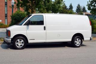 Used 2002 Chevrolet Express 2500 Cargo Van *Contractor Special for sale in Vancouver, BC