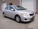 Used 2009 Toyota Corolla CE MODEL-POWER WINDOWS/LOCKS,KEYLESS,NO ACCIDENTS for sale in North York, ON