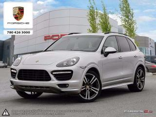 Used 2013 Porsche Cayenne CERTIFIED PRE-OWNED | RARE GTS Model! | Sport Chrono PKG | V8 | Local for sale in Edmonton, AB