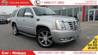 Used 2010 Cadillac Escalade ALLOYS | LEATHER | BACK UP CAMERA| 7 PASSENGER | for sale in St Catharines, ON