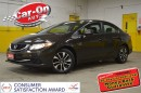 Used 2013 Honda Civic EX SUNROOF PWR GRP ALLOYS REAR CAM for sale in Ottawa, ON