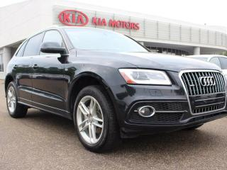 Used 2014 Audi Q5 2.0T PROGRESSIV S LINE!! PANORAMIC SUNROOF, HEATED SEATS, POWER SEATS for sale in Edmonton, AB