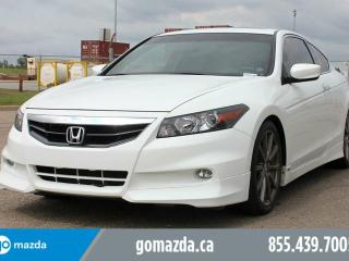Used 2012 Honda Accord EX-L HFP V6 w/ Navigation LEATHER SUNROOF BRAND NEW TIRES ACCIDENT FREE LOCAL for sale in Edmonton, AB