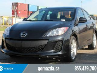 Used 2013 Mazda MAZDA3 GX A/C PWR WINDOW AND LOCKS LOCAL for sale in Edmonton, AB