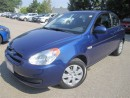 Used 2010 Hyundai Accent L-Manual-Bonus:winter tires-MINT for sale in Mississauga, ON