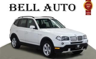Used 2007 BMW X3 3.0 SI LEATHER SUNROOF for sale in North York, ON