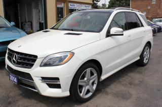 Used 2014 Mercedes-Benz ML 350 Sport Package Navi Panorama Roof AMG Wheels for sale in Brampton, ON