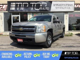 Used 2009 Chevrolet Silverado 1500 LS ** Crew Cab, 4X4, Low Kms ** for sale in Bowmanville, ON