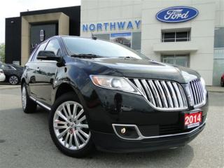Used 2014 Lincoln MKX | AWD | NAV | REAR CAM | PANO ROOF | for sale in Brantford, ON