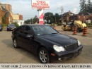 Used 2006 Mercedes-Benz C-Class 2.5L | YOU CERTIFY YOU SAVE for sale in Kitchener, ON