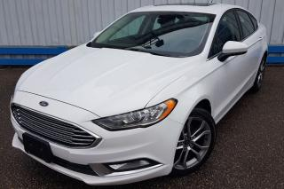 Used 2017 Ford Fusion SE *LEATHER-SUNROOF* for sale in Kitchener, ON