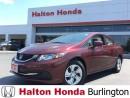 Used 2015 Honda Civic SEDAN LX for sale in Burlington, ON
