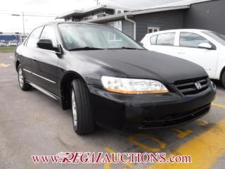 Used 2002 Honda ACCORD SE 4D SEDAN for sale in Calgary, AB