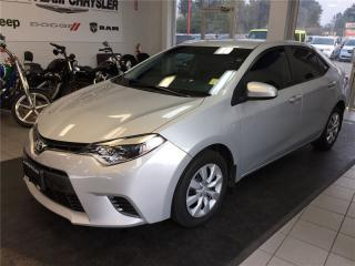 Used 2015 Toyota Corolla for sale in Coquitlam, BC