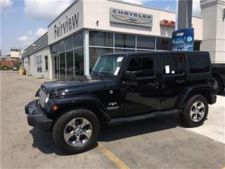 Used 2016 Jeep Wrangler Unlimited Sahara..Alpine Stereo/Navi/ for sale in Burlington, ON
