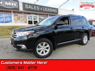Used 2011 Toyota Highlander Sport  4X4 NAV CAM PWR-GATE DVD 7-PASS REAR-AC for sale in St Catharines, ON